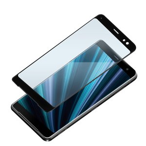 XperiaXZ3用 3D液晶全面保護ガラス ブルーライト低減 PG-XZ3GL09|pg-a