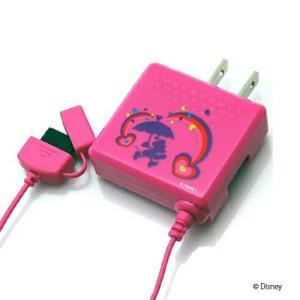 Disney Foma/SoftBankAC充電器 ミニーマウス PG-DNY411MNE|pg-a