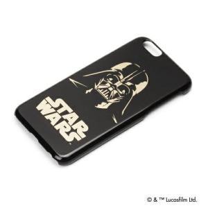 STAR WARS  スターウォーズ iPhone6 ハードケース 金箔押し ダースベイダー PG-DCS921DV pg-a