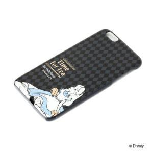 iPhone6Plus ハードケース 金箔押し 不思議の国のアリス PG-DCS962ALC|pg-a