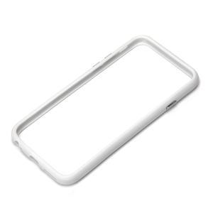 iPhone6 ハイブリッドバンパー ホワイト PG-I6BP02WH|pg-a