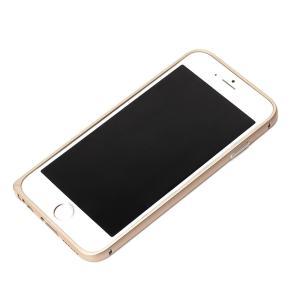 iPhone6 アルミバンパー ゴールド PG-I6BP04GD|pg-a