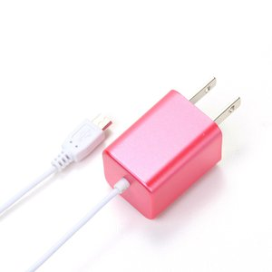 micro USB AC Charger ピンク PG-SPMUAC03PK|pg-a