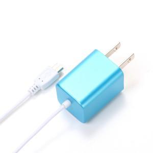micro USB AC Charger ブルー PG-SPMUAC04BL|pg-a