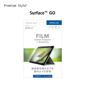 Surface GO用 液晶保護フィルム ペーパーライク|pg-a