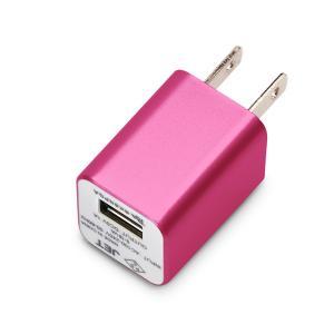 WALKMAN Smartphone用 USB電源アダプタ 1A ローズピンク PG-WAC10A03PK pg-a