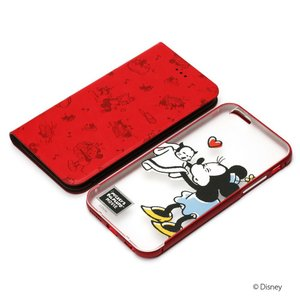 iPhone6s/iPhone6 2WAY COVER ミニーマウス PG-DFP069MNE|pg-a