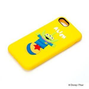 iPhone8・iPhone7 シリコンケース エイリアン PG-DCS136LGMディズニー トイストーリー アイフォン|pg-a