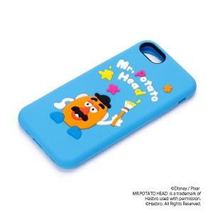 iPhone8・iPhone7 シリコンケース ミスター・ポテトヘッド PG-DCS137TOYポテトヘッド ディズニー トイストーリー pg-a