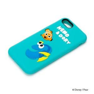iPhone8・iPhone7 シリコンケース ニモ&ドリー PG-DCS140NEMディズニー ニモ ドリー pg-a