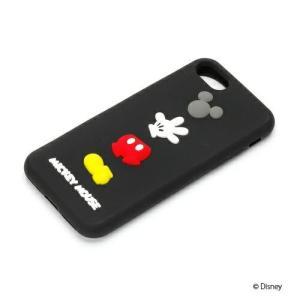 iPhone8・iPhone7 シリコンケース ミッキーマウス PG-DCS143MKYシリコン ミッキー ディズニー|pg-a