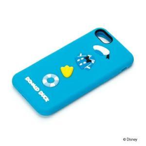 iPhone8・iPhone7 シリコンケース ドナルドダック PG-DCS145DNDシリコン ドナルド アイフォン|pg-a