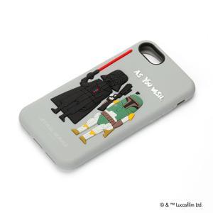 STARWARS  iPhone8・iPhone7 シリコンケース ダース・ベイダー PG-DCS147DV pg-a