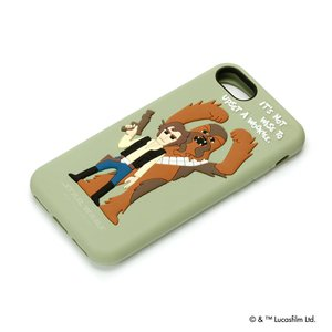 STAR WARS  iPhone8・iPhone7 シリコンケース ハン・ソロ PG-DCS148HS pg-a
