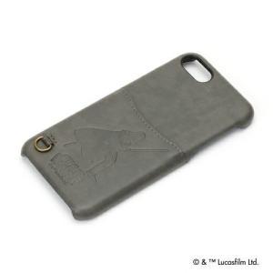 STARWARS  iPhone8・iPhone7 ハードケース ポケット付き ダース・ベイダー PG-DCS154DV|pg-a