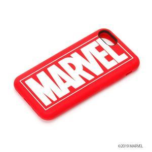 MARVEL マーベル iPhone8・iPhone7 シリコンケース ロゴ PG-DCS156MVL|pg-a