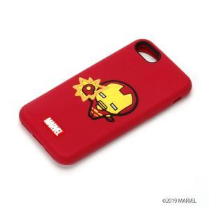 MARVEL マーベル iPhone8・iPhone7 シリコンケース アイアンマン PG-DCS160IRM|pg-a
