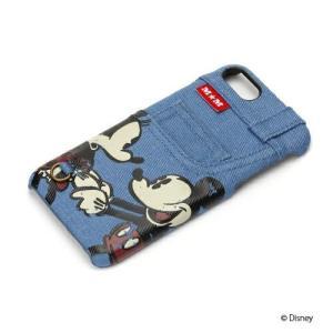 iPhone8・iPhone7 ハードケース ポケット付き ミッキー&ミニー PG-DCS168MMハード ディズニー ミッキー ミニー|pg-a