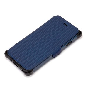 Premium Style iPhone 7 タフフリップカバー ネイビー PG-16MFP30NV