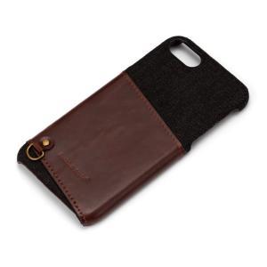 iPhone8・iPhone7 カードポケット付き ハードケース ブラック PG-16MCA04BK|pg-a