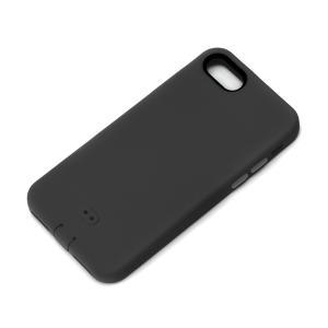 iPhone8・iPhone7 シリコンソフトケース ブラック PG-16MSC01BK|pg-a