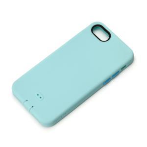 iPhone8・iPhone7 シリコンソフトケース ブルー PG-16MSC04BL スマホケース|pg-a