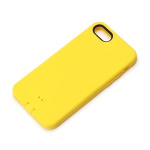 iPhone8・iPhone7 シリコンソフトケース イエロー PG-16MSC05YE スマホケース|pg-a