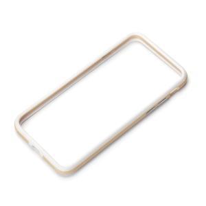 iPhone7 ハイブリッドバンパー ゴールド PG-16MBP07GD pg-a