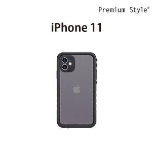 iPhone 11用 ウォータープルーフケース ブラック PG-19BWP01BK|pg-a