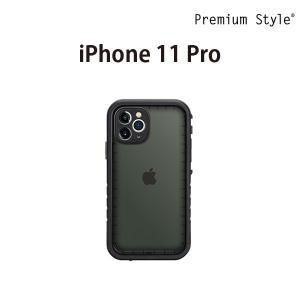iPhone 11 Pro用 ウォータープルーフケース ブラック PG-19AWP01BK|pg-a