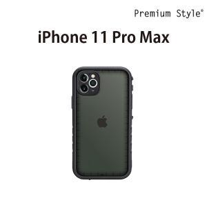 iPhone 11 Pro Max用 ウォータープルーフケース ブラック PG-19CWP01BK|pg-a