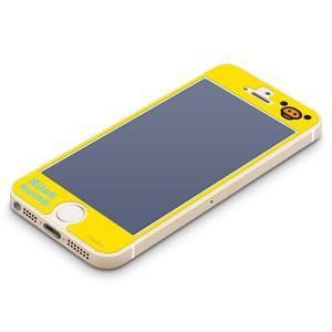 iPhone5s/5c/5専用 ブルーライト低減液晶保護フィルム キイロイトリ(フェイス) YY00109|pg-a