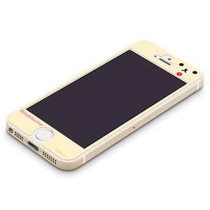 iPhone5s/5c/5専用 衝撃軽減液晶保護フィルム コリラックマ(フェイス) YY00111|pg-a
