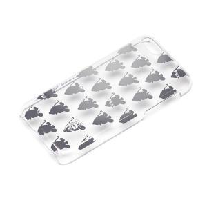 iPhone5c ポリカーボネイトケース クリア シルバー センチメンタルサーカス YY00201|pg-a