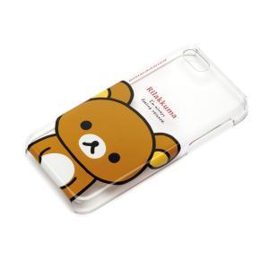 iPhone5c ポリカーボネイトケース クリア リラックマ YY00205|pg-a