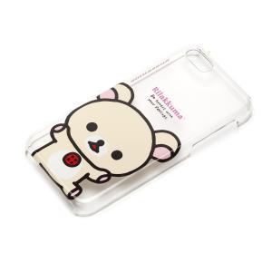 iPhone5c ポリカーボネイトケース クリア コリラックマ YY00206|pg-a
