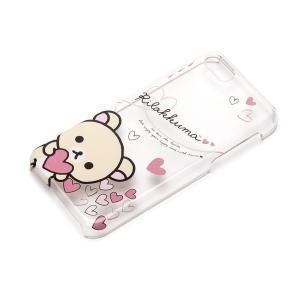 iPhone5c ポリカーボネイトケース クリア コリラックマ(ハート) YY00209|pg-a