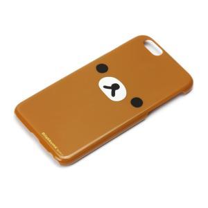 iPhone6専用 ポリカーボネイトケース(リラックマフェイス) YY00601|pg-a