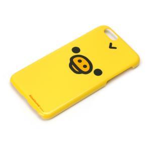 iPhone6専用 ポリカーボネイトケース(キイロイトリフェイス) YY00603|pg-a