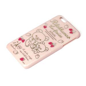 iPhone6Plus ポリカーボネイトケース (リラックマ いちご) YY00808|pg-a