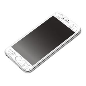 iPhone6s/iPhone6 液晶保護ガラス ホワイトフレーム(すみっコぐらし)2971YY01204 pg-a