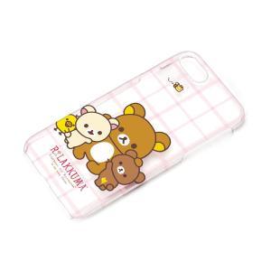 iPhone7 クリアケース リラックマ YY01601 pg-a