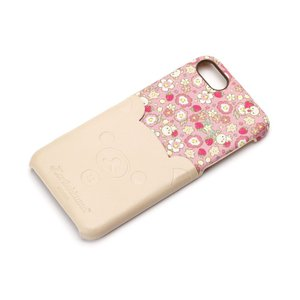 iPhone8・iPhone7 ポケット付きPUケース コリラックマ/ダイカット YY01607 pg-a