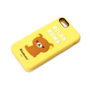 iPhone8・iPhone7 シリコンケース リラックマ YY01801|pg-a