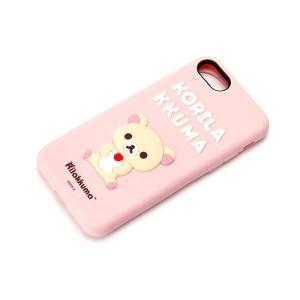 iPhone8・iPhone7 シリコンケース コリラックマ YY01802|pg-a