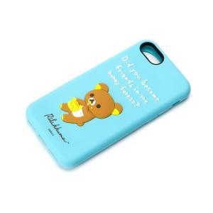iPhone8・iPhone7 シリコンケース リラックマとはちみつ YY01805|pg-a