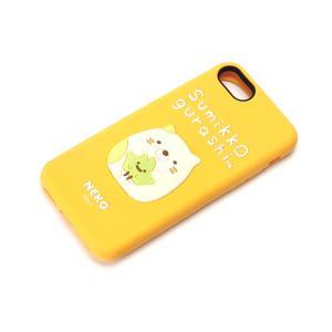 iPhone8・iPhone7 シリコンケース すみっコぐらし/ねこ YY01809|pg-a