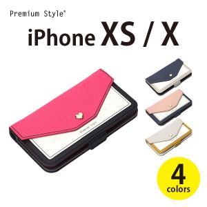 アウトレット品 iPhoneXS iPhoneX アイフォン iPhoneケース 手帳型 フリップカバー スクエア型ポケットアイフォンX XS 携帯|pg-a
