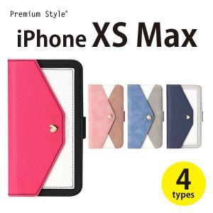 iPhoneXSMax ダブルフリップカバー 【アイフォンXSMax  手帳型 おしゃれ】|pg-a