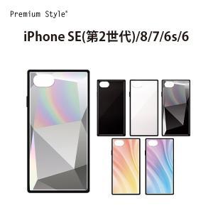 iPhone SE(第2世代)/8/7/6s/6用 ガラスハイブリッドケース|pg-a